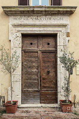 Photograph - Italian Door #12 by Jennifer Ludlum