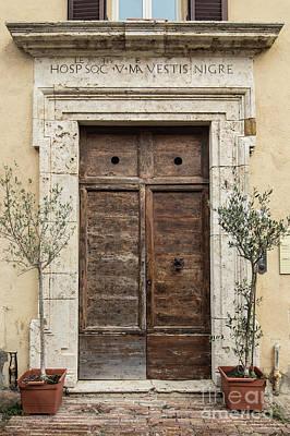 Photograph - Italian Door #12 by Jennifer Ludlum