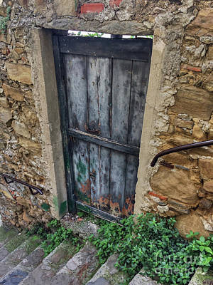 Photograph - Italian Door #13 by Jennifer Ludlum