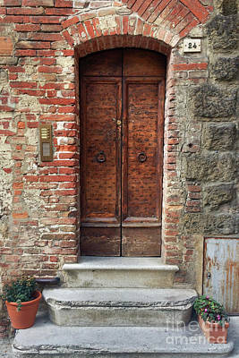 Photograph - Italian Door #2 by Jennifer Ludlum