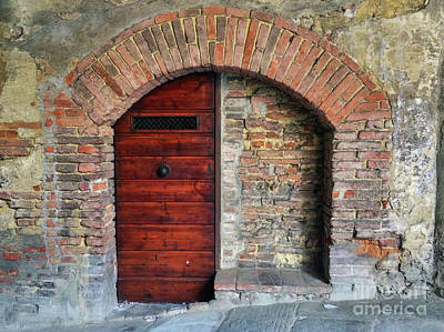 Photograph - Italian Door #3 by Jennifer Ludlum