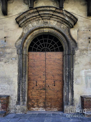 Photograph - Italian Door #4 by Jennifer Ludlum