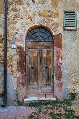 Photograph - Italian Door #6 by Jennifer Ludlum