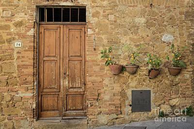 Photograph - Italian Door #7 by Jennifer Ludlum