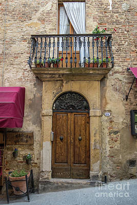 Photograph - Italian Door #8 by Jennifer Ludlum