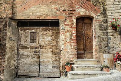 Photograph - Italian Door #9 by Jennifer Ludlum