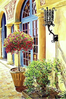 Italian Elegance Art Print by David Lloyd Glover