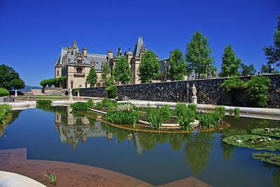 Photograph - Italian Gardens At Biltmore In Asheville by Jill Lang