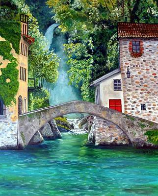 Painting - Italian Getaway by Julie Brugh Riffey