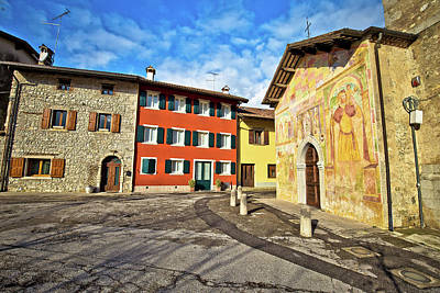 Photograph - Italian Heritage In Cividale Del Friuli Natisone River Ancient S by Brch Photography