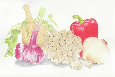Painting - Italian Kitchen by Carol Bond Art