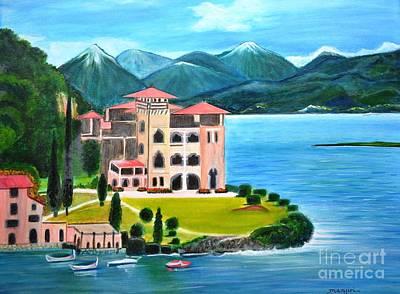Italian Landscape-casino Royale Art Print