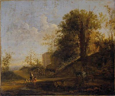 Painting - Italian Landscape by Jan Both
