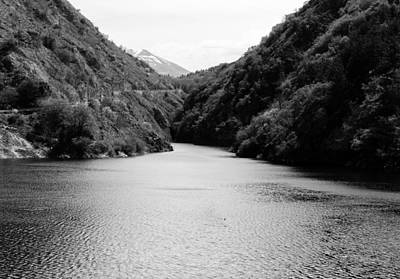 Photograph - Italian Landscapes - Lak0e San Domenico Bw3 by Andrea Mazzocchetti