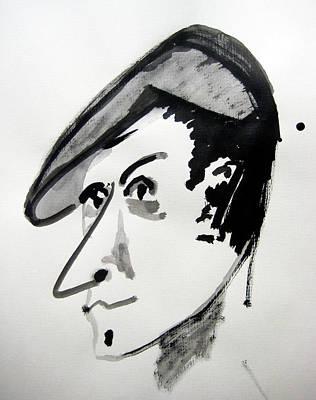 Painting - Italian Man Portrait by Raul Morales