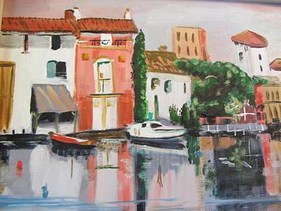 Painting - Italian Marina by Dody Rogers