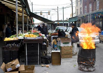 Philadelphia Italian Market Photograph - Italian Market by David Oakill