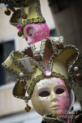 Photograph - Italian Mask In Venice by Loriannah Hespe