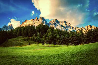Photograph - Italian Mountain Meadow by Pixabay