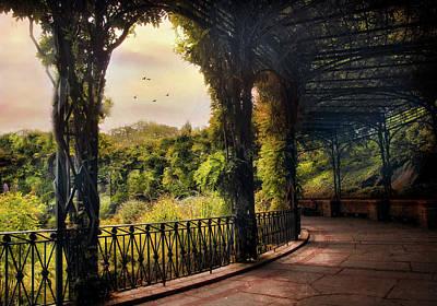 Photograph - Italian Pergola by Jessica Jenney