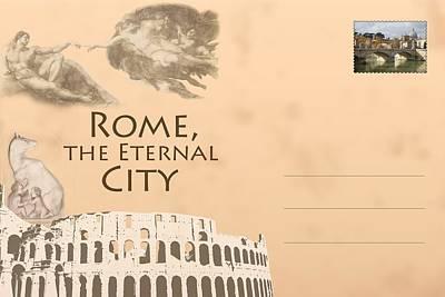 Italian Postcard Art Print