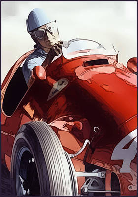 Digital Art - Italian Racing by Gary Grayson