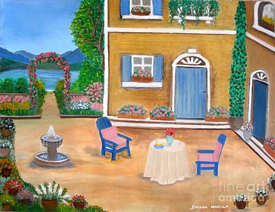 Venetian Doors Painting - Italian Retreat by Shikha Narula