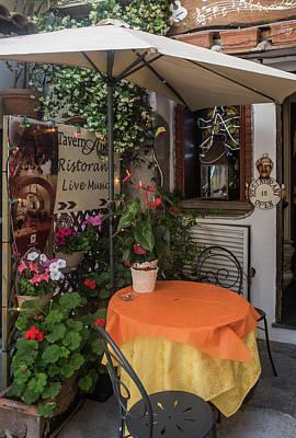Photograph - Italian Ristorante by Jocelyn Kahawai