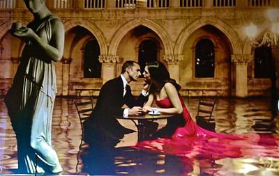 Italian Romance Art Print by Dorota Nowak