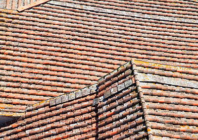 Photograph - Italian Roof by Valentino Visentini