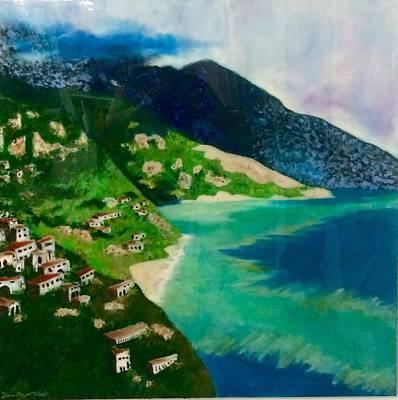 Italian Seaside  Art Print by Jason Rosenstock