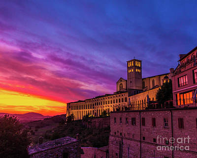 Photograph - Italian Sky by Perry Webster