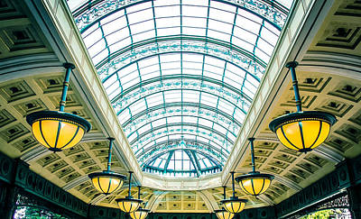 Photograph - Italian Skylight by Bobby Villapando