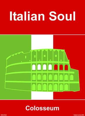 Italian Soul Art Print by Asbjorn Lonvig