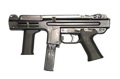 Italian Spectre M4 Submachine Gun Art Print by Andrew Chittock