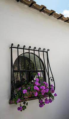 Photograph - Italian Villa Window by Jocelyn Kahawai