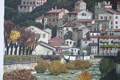 Painting - Italian Village by Joe Jaqua