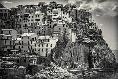 Manarola Photograph - Italian Vintage by Chris Fletcher