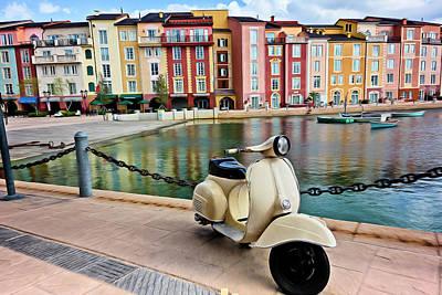 Italian Vista Series 8011y Art Print