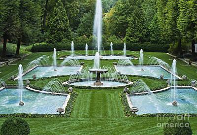Longwood Gardens Photograph - Italian Water Garden by John Greim