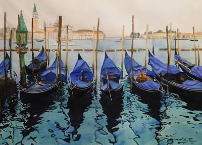 Italian Waters Original by Terry Honstead