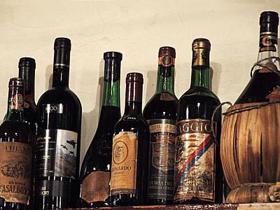Italian Wine Photograph - Italian Wine by Marion McCristall