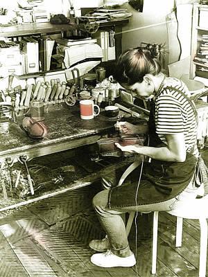 Photograph - Italian Worker by La Dolce Vita