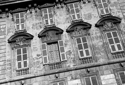 Photograph - Italianate Facade 1b by Andrew Fare