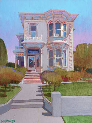 Painting - Italianate Jewel, Alameda by Nancy Roberts