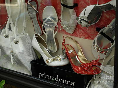 Photograph - Italianshoes by Mary Kobet