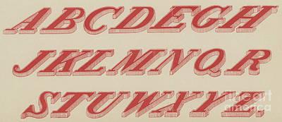 Abc Drawing -  Italic Shaded  by English School