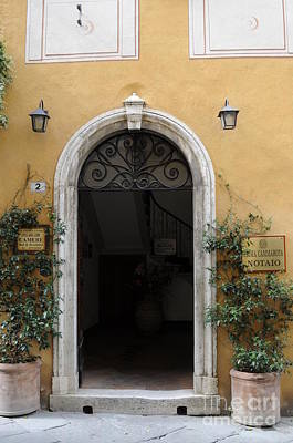 Italy - Door Thirteen Art Print