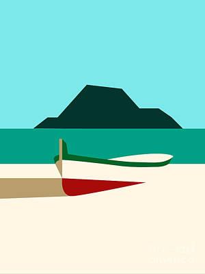 Italy Boat Art Print