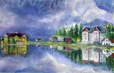 Painting - Italy Calm Day by Bernadette Krupa